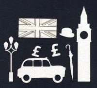 Чипборд «Вокруг света. Лондон»