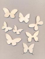 Набор «Бабочки» элементы из дерева