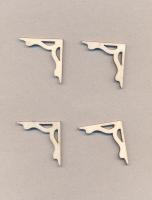 Уголки накладные «Узор №6» из фанеры