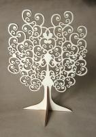 Дерево для украшений плоское