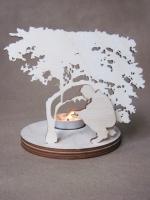 Подсвечник декоративный «У огня»