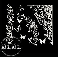 Чипборд «Растения и бабочки»