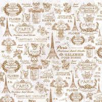 Цветной листовой войлок с рисунком «Тур в Париж»