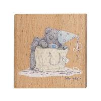 Деревянный штамп «Особый подарок»
