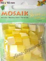 Декоративная мозаика пластиковая «Тонированная» желтая