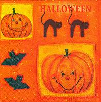 Салфетка для декупажа «Halloween»