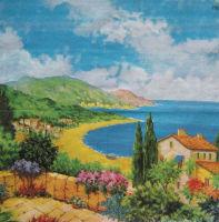 Салфетка для декупажа «Солнечное побережье»
