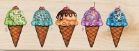 Штамп «Мороженное»