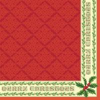 Салфетка для декупажа «Merry Christmas» №510