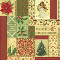 Салфетка для декупажа «Рождество» №403